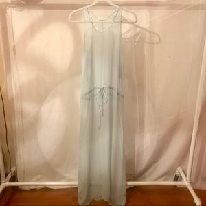 LACAUSA Maxi Dress Chiffon NWT